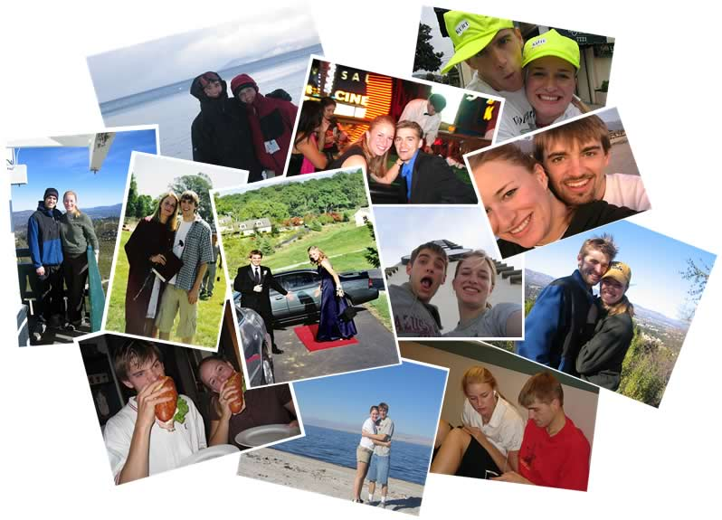 Picture Collage of Sean & Kelly